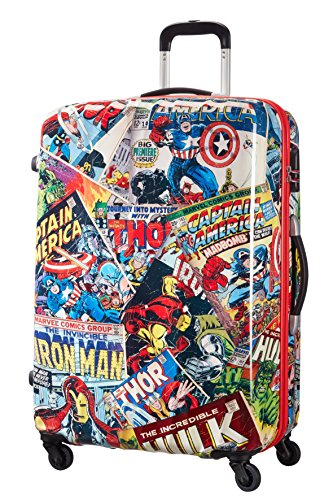 American Tourister Marvel Legends Spinner 75/28 Valigia, 87 Litri, Marvel