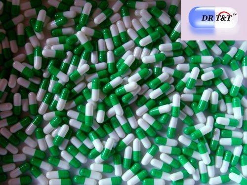 DR T&T 1000 dimensioni 3 dimensioni3 formato verde / bianco capsule di gelatina