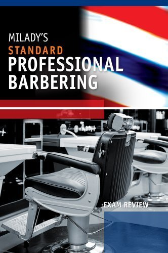 Exam Review for Milady's Standard Professional Barbering 5th by Milady (2010) Paperback