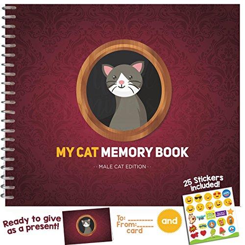 Mein Haustier Erinnerungsbuch Male Cat (Catwoman Ideen)