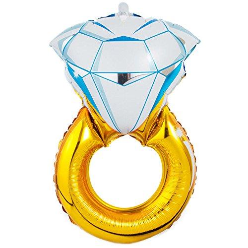 Team Henne Diamant Ring Ballon (One Size) (Amazon Diamant Ringe)