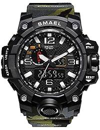 ZRSJ Relojes Reloj de Pulsera para Hombre 50M Waterproof Reloj Digital g Shock Hombre Reloj Deportivo