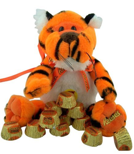 plush-stuffed-animal-toy-orange-black-rapping-tiger-with-reeses-peanut-butter-candy-by-galerie