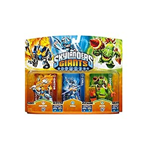 Skylanders: Giants – Triple Pack B: Chill, Zook, Ignitor