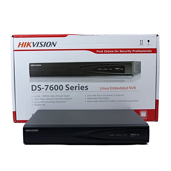 Hikvision DS 7616NI E216P Versione Inglese embedded Plug