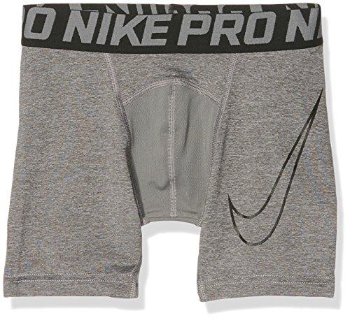 Nike Kinder Boxershorts Cool Compression 6 Zoll, Carbon Heather/Black, M, 726461-091 (Kinder Nike Short Jungen)