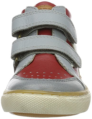 Bisgaard Unisex-Kinder Klettschuhe High-Top Rot (901 Red)