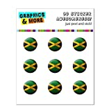 Drapeau de la Jamaïque de football Soccer Ball Futbol Home Button Stickers pour...
