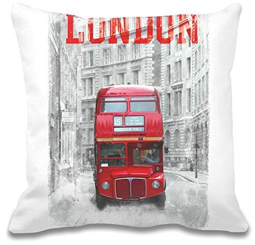 london-double-decker-bus-custom-decorative-pillow-ultra-suave-premium-calidad-polyester-personalizar