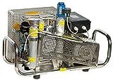HTD - Compressore d'Aria 100 l/min, Motore Elettrico 300 Bar, 220 Volt, alloggiamento in Acciaio Inox