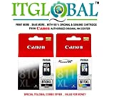 CANON PG 810XL Black & CL 811XL Color [Set of 2 Cartridge] -Special ITGLOBAL Combo Offer