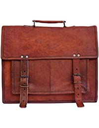 Vintage Genuine Leather Office Men's Laptop Messenger Bag (11x15) - B06XNWK8QM