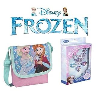 Frozen Umhängetasche + Schmuck 4 Stück Frozen