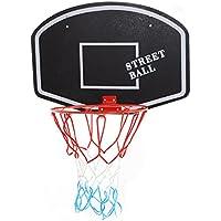 Basketballboard ABA Basketballkorb mit Netz Basketball Backboard für Kinder Basketballbrett inklusive Korb und Netz Basketballring Indoor