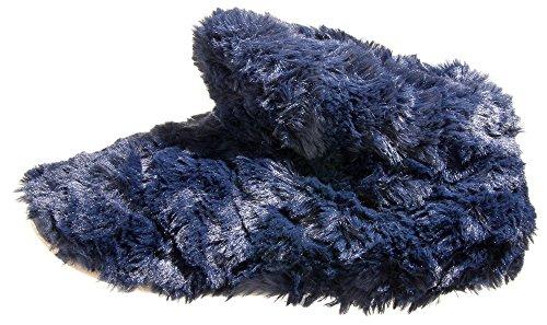 Isotoner , Chaussons pour femme Bleu Marine