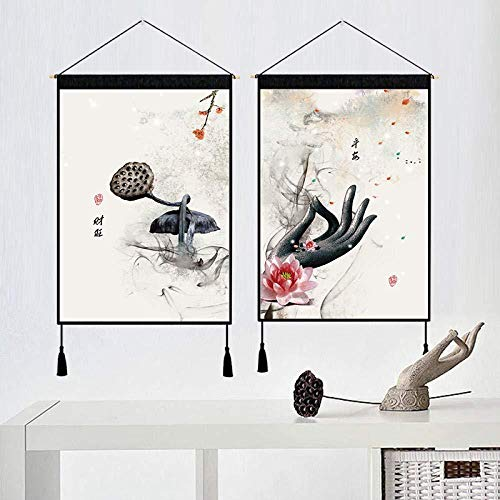 shimengran Leinwand Gemälde Wandbild Leinwand Gemäldeleinwand Kunst Segen Dekoration Drucke Wand Leinwand Kunst Hängen Malerei Für Wohnzimmer Wand 45 * 60 cm -