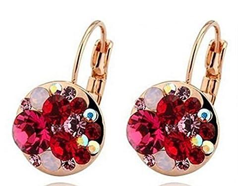 SaySure - Drop Earrings Sapphire Swa Earrings