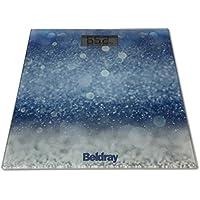 Beldray - Báscula digital para baño (cristal, ...