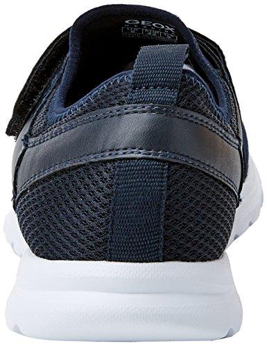 Geox U Damian B, Sneakers Basses Homme Bleu (Navy)