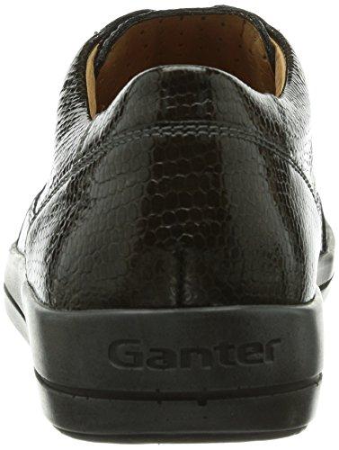 Ganter Giulietta, Weite G, Baskets Basses femme Vert - Grün (schlamm 5400)