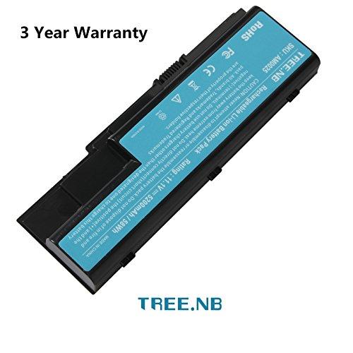 Tree.NB Batteria di ricambio per Acer Aspire 5220 5230 5235 5300 5310 5315 5320 5330 5520 6930 7220 8730 Extensa 7230 7630 7630 TravelMate 7230 7530 AS07B31 AS07B32 AS07B41 AS07B51 AS07B71 AS07B72 LC.BTP00.008 LC.BTP00.014 Batterie per portatili