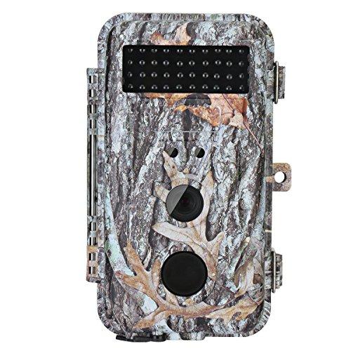 f9cf592a7 Barato BlazeVideo Cámara de Caza 16MP HD Fauna Silvestre Caza Seguimiento  Cámara Impermeable Juego Exploración Cazador Contiene PIR Sensor Movimiento  Visión ...