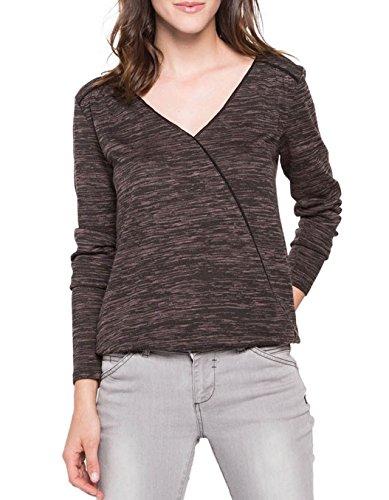 Bonobo Damen T-Shirt Squecoeurf Gris (Gris Violine)