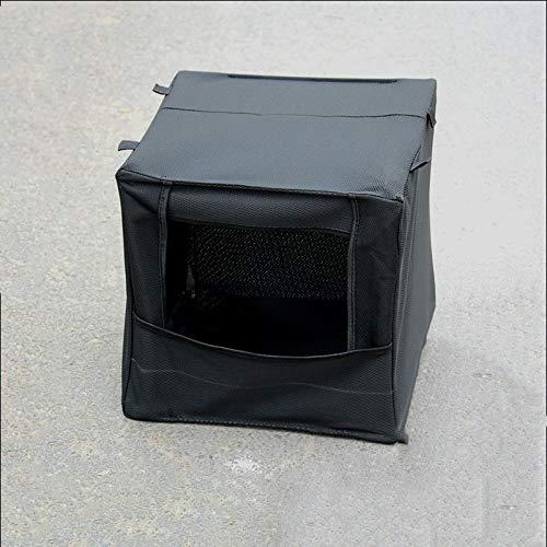 WQ-HUNTING, Leinwand Ziel 40 cm * 40 cm Slingshot Schalldämpfer Blact Folding Slingshot Ziel Box für Outdoor-Spiel mit dem Ziel Schießen Ejector Targe