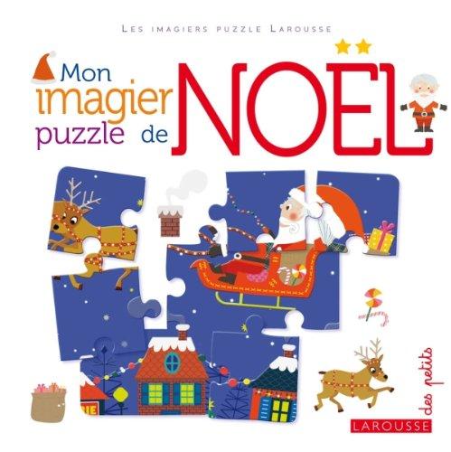 Mon imagier puzzle de Noël