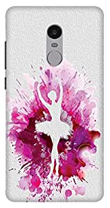 Wizzart Mi Xiaomi Redmi Note 4 Back Cover Case In Designer Cases And Covers Paint Girl Print Design