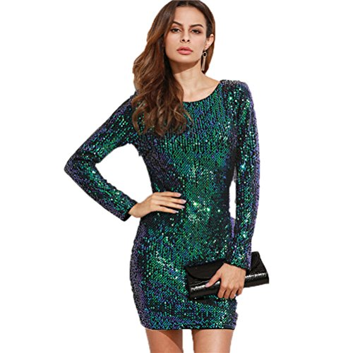 GBT Liebe - Rückenfrei Kleid Perspektive grüne