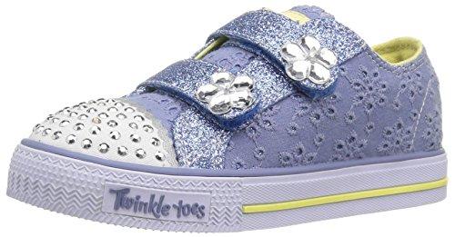 Skechers - Shufflessweet Steps, Sneaker Bambina Blu