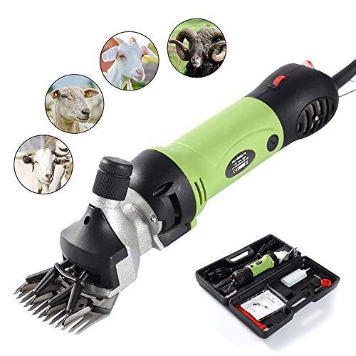 JYPCBHB Tijeras de Lana Tijeras eléctricas de Lana Ahorre Tiempo y Esfuerzo Cortadora eléctrica de Lana Empujador Tijeras para Mascotas Productos para Animales Tijeras Eléctricas