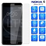 IDEAL With Nokia 6 - IDEAL 0.33 Mm Thickness, 9H Hardness With 2.5D Round Edge Tempered Glass For Nokia 6 - CLEAR