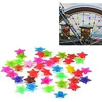 'Bicicletta raggi Clips