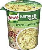 Knorr Snack Bar Kartoffel Snack Speck & Zwiebeln 1 Portion (8 x 58 g)