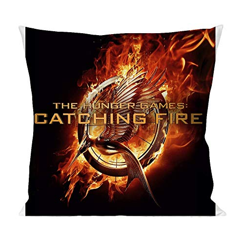 Movie Stars Merchandise The Hunger Games Catching Fire Pillow Cushion Extra Soft Polyester for Bed Home Furniture by