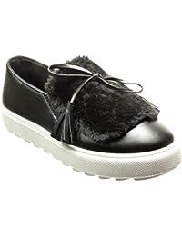 3c69f6c62d Amazon.it: slip on zeppa - Sneaker / Scarpe da donna: Scarpe e borse