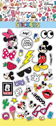 Mickey Pop Art, STICKERS SHEETS RETRO PUFFY