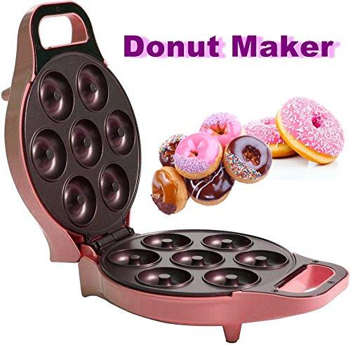 Donut Maker Danutmaker Krapfen Teigbällchen Backen Deko Geburtstage Kinder Süße Deko Streußel Naschen Waffeleisen