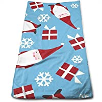 Travels Best for Outdoor Quick Drying and Super Absorbent Technology ewtretr Handtücher,Blue Chinese Crested Fabric Microfiber Beach Towel Large 11.8X27.5 Towels Sports