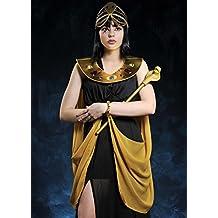 Disfraz de damas negro egipcio Cleopatra Small (UK 8-10)