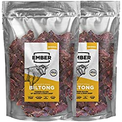 Ember Biltong - Beef Jerky - High Protein Snack - (Biltong, Original 1KG) ...