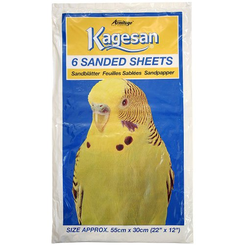 Northern Parrots Kagesan Sanded Sheets 55x30cm (22×12) – 6 Pack