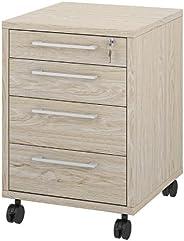 Tvilum Prima Mobile Cabinet, Oak, 80419