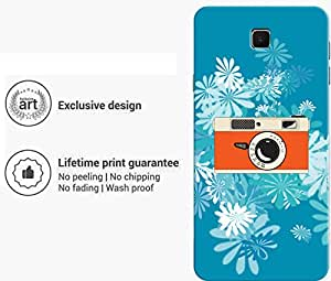 """Humor Gang camera daisy Printed Designer Mobile Back Cover For """"Meizu M3 Note"""" (3D, Matte Finish, Premium Quality, Protective Snap On Slim Hard Phone Case, Multi Color)"""