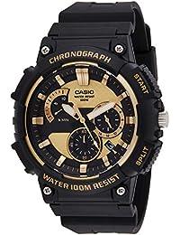 Casio Reloj Analogico para Hombre de Cuarzo con Correa en Acero Inoxidable sólido MCW-200H-9AVEF