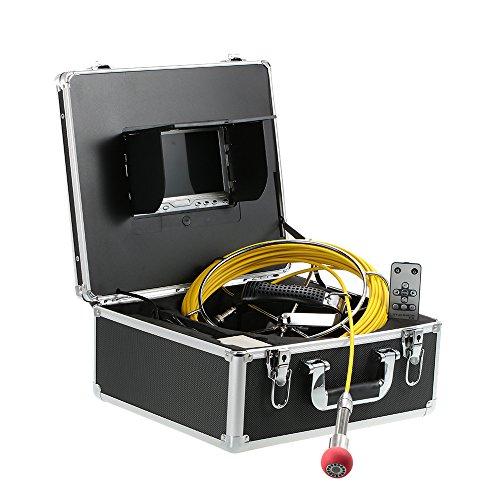 Lixada 7 LCD Impermeable Desagüe Tubería Cloaca Inspección Cámara Industrial Endoscopio Baroscope Sistema de Inspección