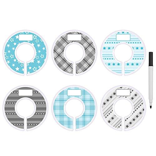 blulu-separador-de-tallas-de-ropa-separador-de-armario-redondo-azul-y-gris-con-rotulador-punto-estre