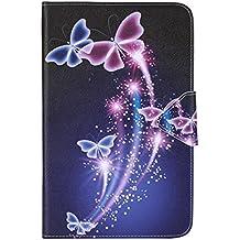 Samsung Tab E T560 Carcasa,Ultra Delgado Ligero Protección Funda de Cuero Piel Book Cover Smart Case para el Tablet Samsung Galaxy Tab E 9.6 Pulgadas SM-T560 SM-T561 Funda Carcasa Caso con Soporte